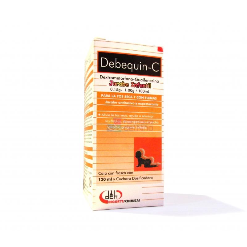 Debequin-C (DEXTROMETORFANO / GUAIFENESINA) Jarabe