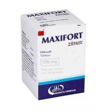 MAXIFORT (SILDENAFIL) 100MG 10TAB