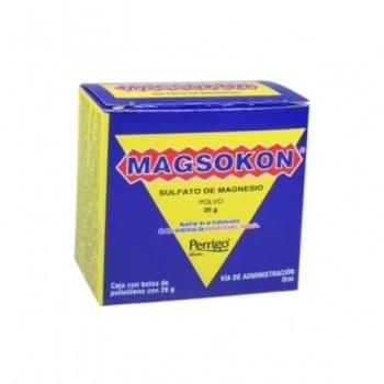 MAGSOKON (Sulfato de magnesio) 100% 26GR POLVO