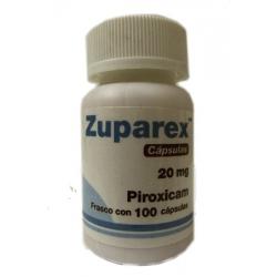 ZUPAREX (PIROXICAM) 20MG 100TAB