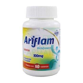 Ariflam Diclofenac Liberacion Prolongada 100mg 50tab