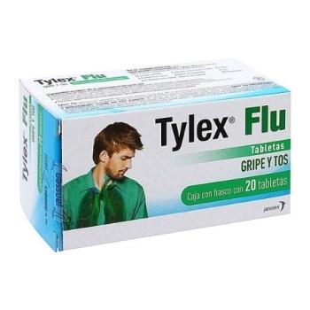TYLEX FLU CON 20TABLETAS