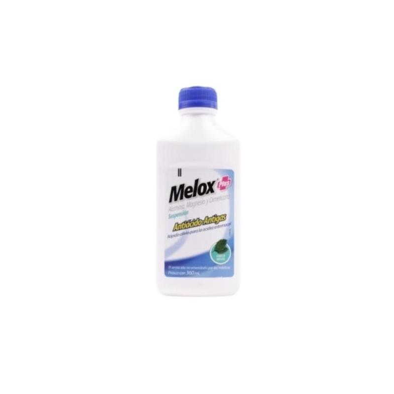 MELOX PLUS (Aluminio.magnesio y dimeticona) SUSP sabor menta