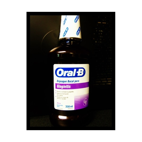 ORAL B Enjuague bucal para Gingivitis 350ml