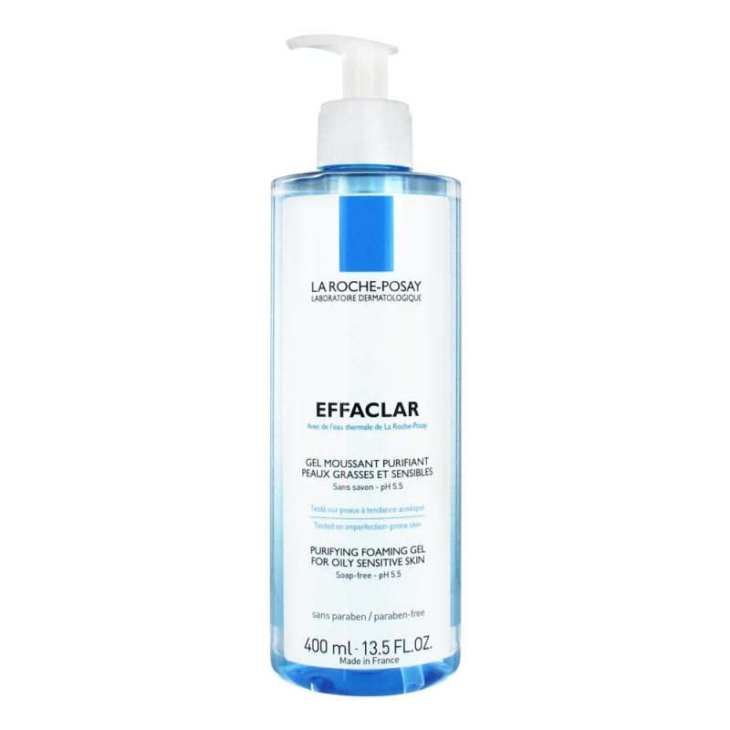 EFFACLAR Gel moussant, purifying foaming gel 400 ml