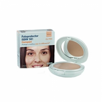 FOTOPROTECTOR ISDIN 50+ COMPACT #BRONCE 10g