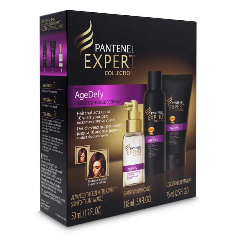 PANTENE EXPERT AGE DEFY (tratamiento 50ml+shampoo 118ml+acondicionador 75ml)