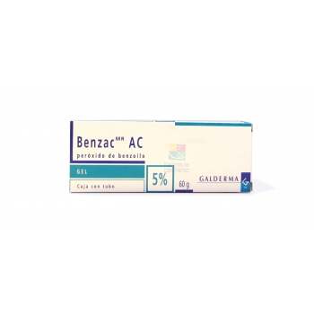 BENZAC AC (PEROXIDE  BENZOYL) 5% 60G
