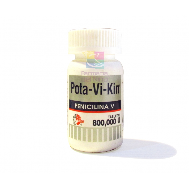 POTA-VI-KIN (PENICILINA) 800,000 U 40TAB