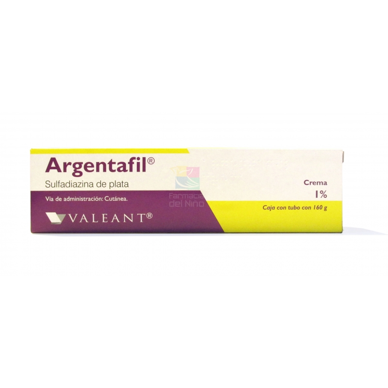 ARGENTAFIL (SULFADIAZINA DE PLATA) 1% 160G