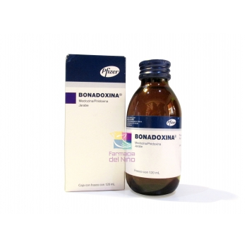 BONADOXINA (MECLIZINE / pyridoxine) SYRUP 120 ML *THIS PRODUCT IS ONLY AVAILABLE IN MEXICO
