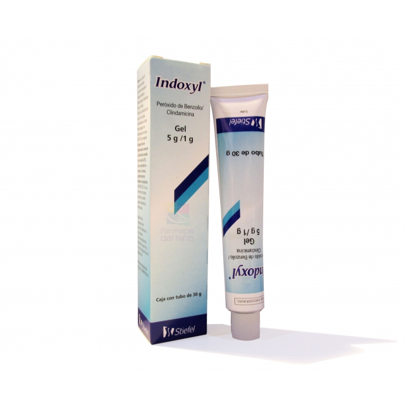 INDOXYL (BENZOYLO PEROXIDE / CLINDAMYCIN) GEL 30GR