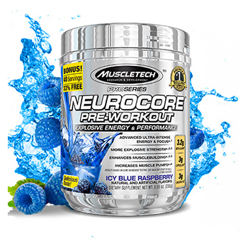 MT NEUROCORE PRE-WORKOUT ICE BLUE RASP ( 40 SERV )