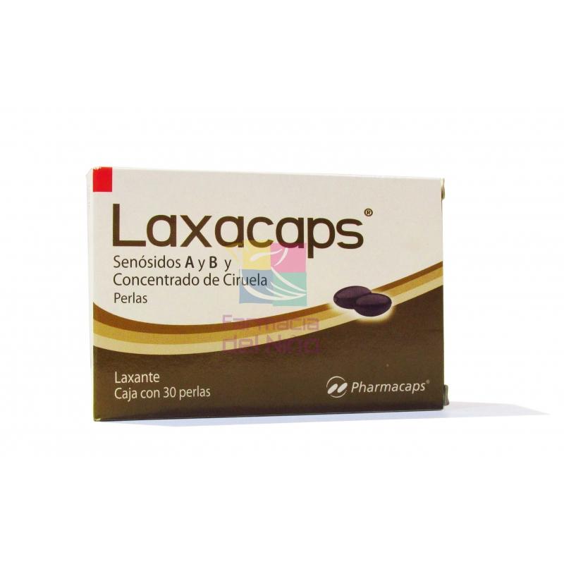 LAXACAPS CON 30PERLAS
