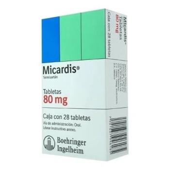 MICARDIS (TELMISARTAN) 80MG 28TAB