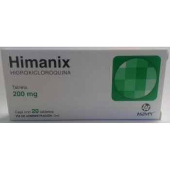HIMANIX (HIDROXICLOROQUINA) 200MG 20 TABLETS
