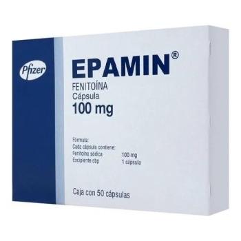 EPAMIN (FENITOINA) 100MG 50CAPS