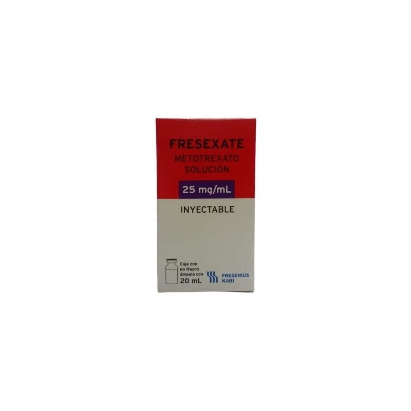 FRESEXATE (METOTREXATO) 25MG SOLUCION INYECTABLE 20ML