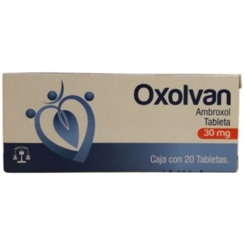 OXOLVAN (AMBROXOL) 30MG 20TAB
