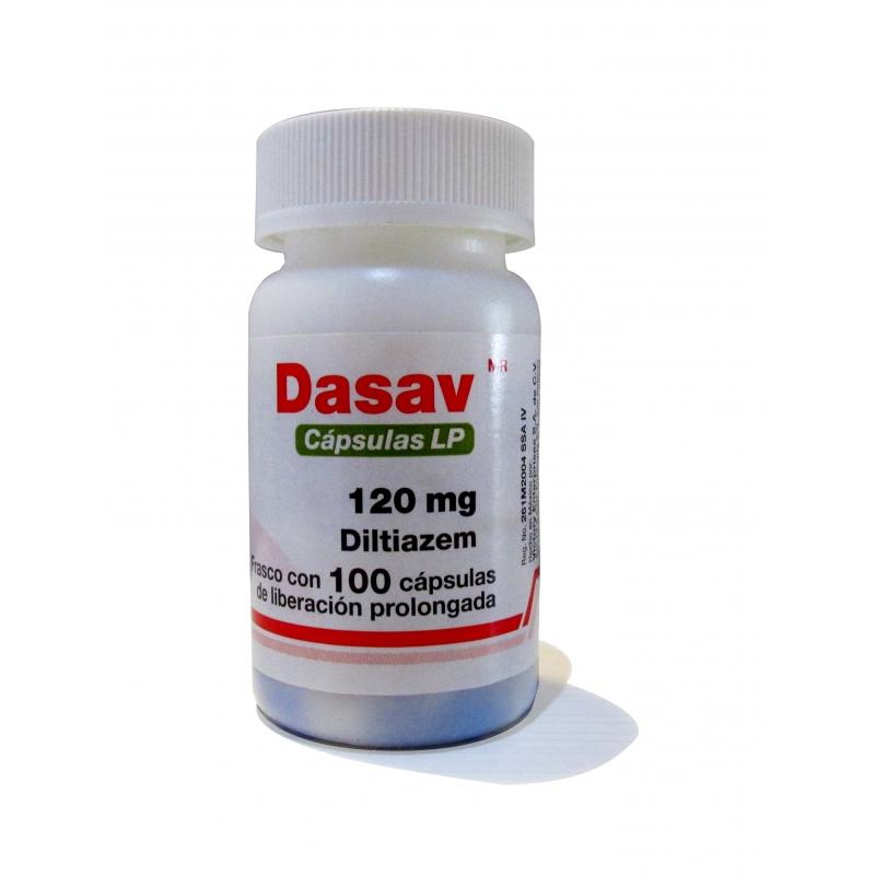 DASAV  (DILTIAZEM) 120MG 100CAPS