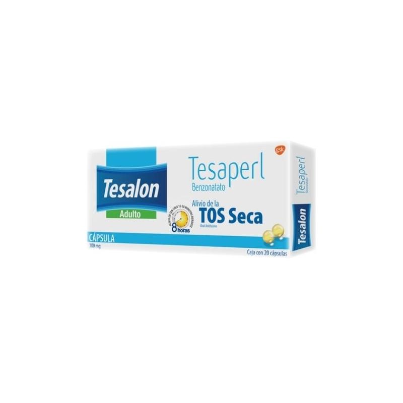 TESALON (BENZONATATO) 100MG 20 PERLAS