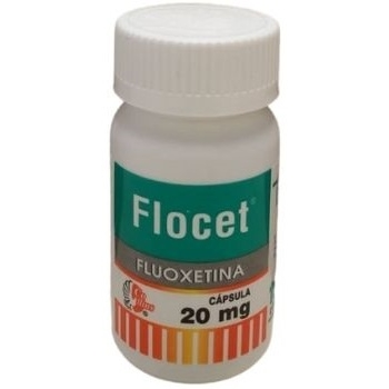 FLOCET (FLUOXETINA) 20MG 100CAPS