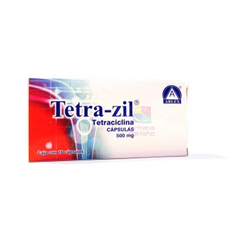 TETRA-ZIL (TETRACICLINA) 500MG 16TAB