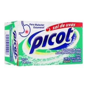SAL DE UVAS PICOT (BICARBONATO DE SODIO) 10SOBRES