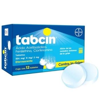 TABCIN EFERVESCENTE 12TAB