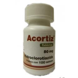 ACORTIZ (HIDROCLOROTIAZIDA) 50MG 100TAB