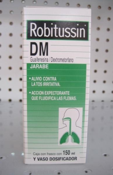 ROBITUSSIN DM JARABE 150ML