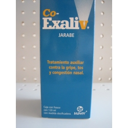 CO-EXALIV JARABE 120ML