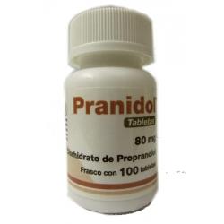 PRANIDOL (PROPRANOLOL) 80MG 100TAB
