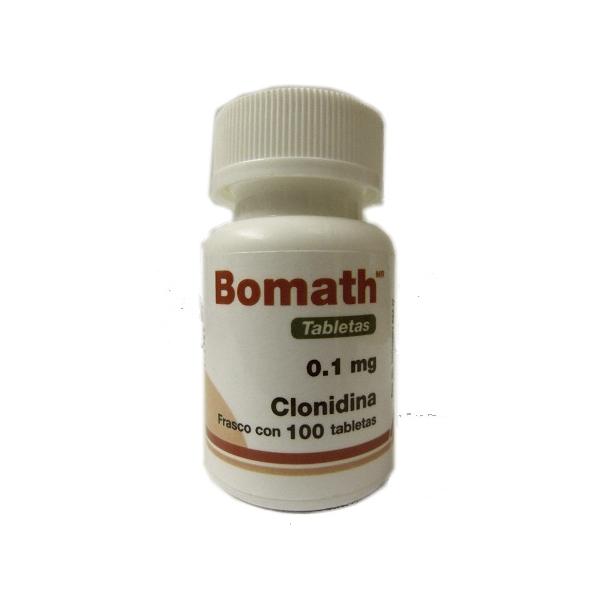 BOMATH (CLONIDINA) 0.1MG 100TAB