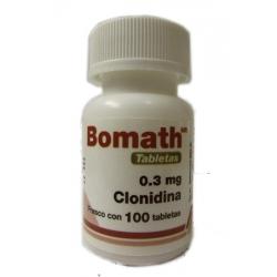 BOMATH (CLONIDINA) 0.3MG 100TAB