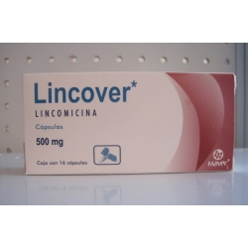 LINCOVER (LINCOMICINA) 500MG 16CAPSULAS
