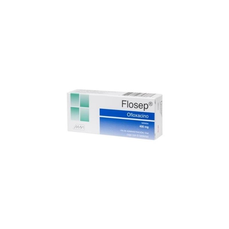 FLOSEP (OFLOXACINO) 400MG 8TAB