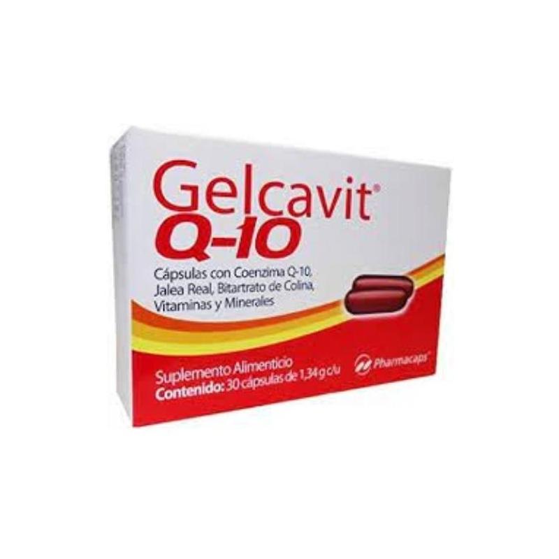 GELCAVIT Q-10 (MULTIVITAMINICO Y MINERALES) 30TAB