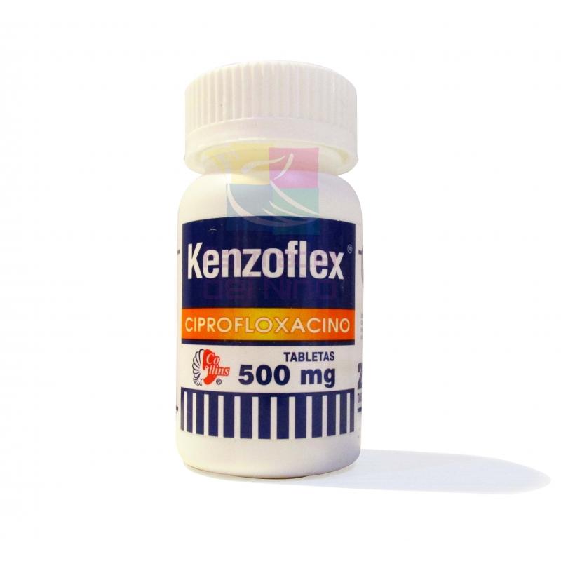 KENZOFLEX (Ciprofloxacino) 500mg 28Tab