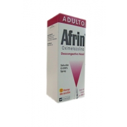 AFRIN ADULTO (OXIMETAZOLINA) 0.050% 20ML