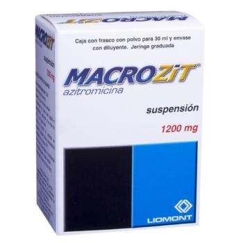 MACROZIT (AZITROMICINA) 1200MG/5ML - MEXIPHARMACY