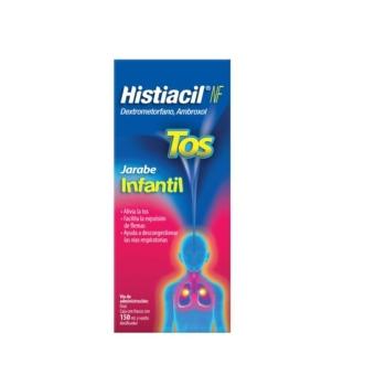 HISTIACIL INFANTIL (DEXTROMETORFANO / AMBROXOL) 150ML JARABE