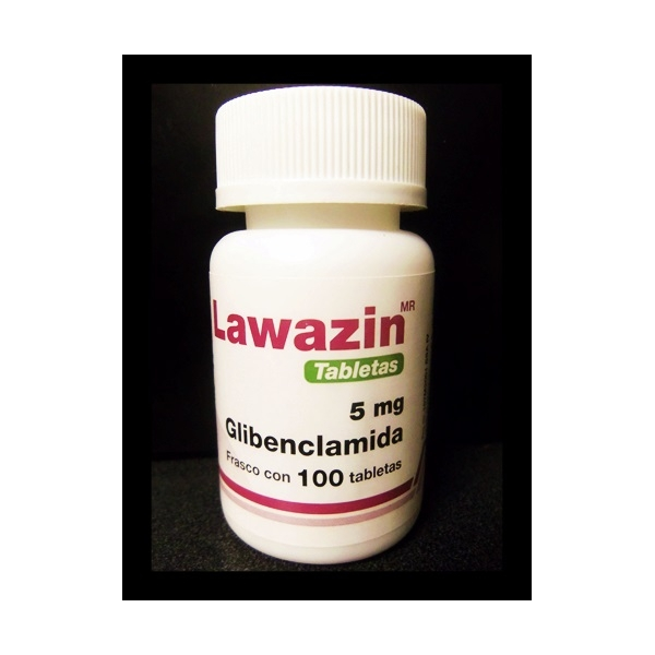 LAWAZIN (GLIBENCLAMIDA) 5MG 100TAB