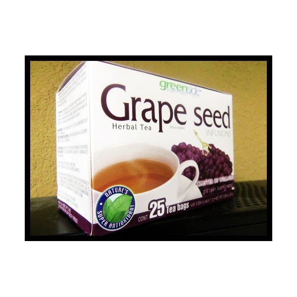 GRAPE SEED HERBAL TEA 25TEA BAGS 1G