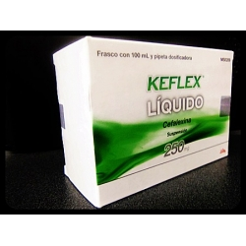 KEFLEX (CEFALEXINA) 250MG SUSPENSION
