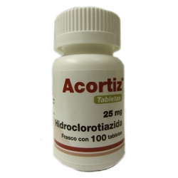 ACORTIZ (HCTZ) 25MG 100TAB