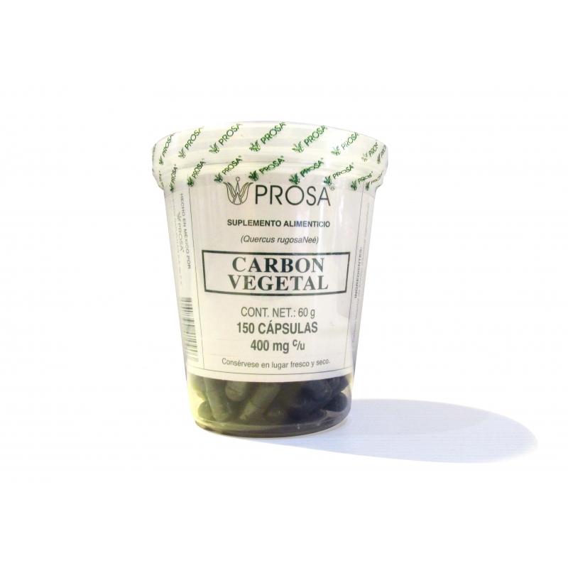 PROSA (CARBON ACTIVADO MEDICINAL)400MG/150CAPS