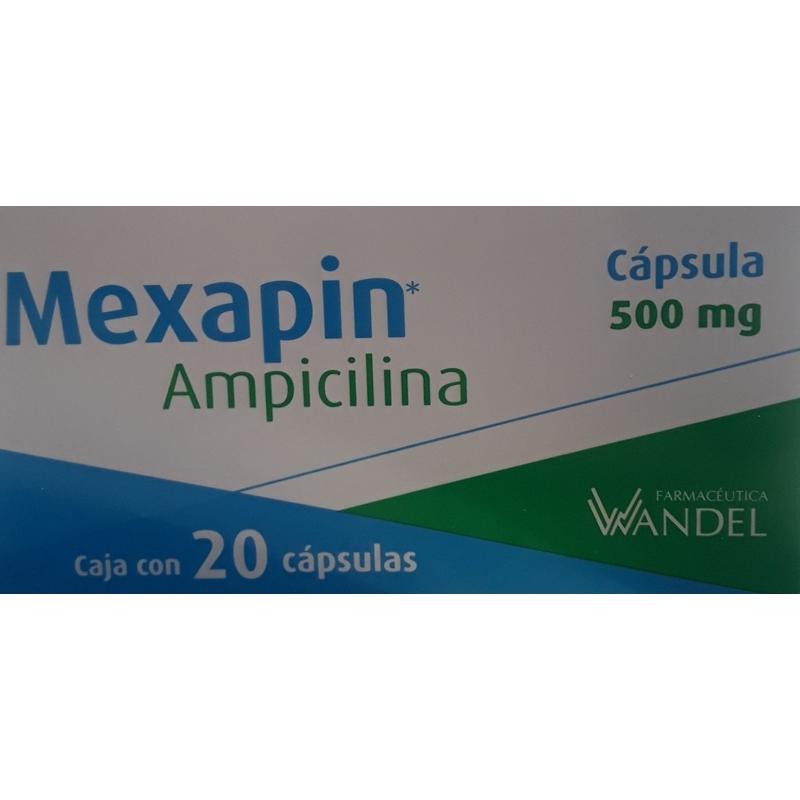 Naxodol Capsulas 500 Mg