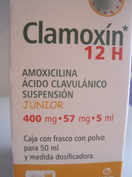 CLAMOXIN 12H 50ML SUSPENSION JUNIOR