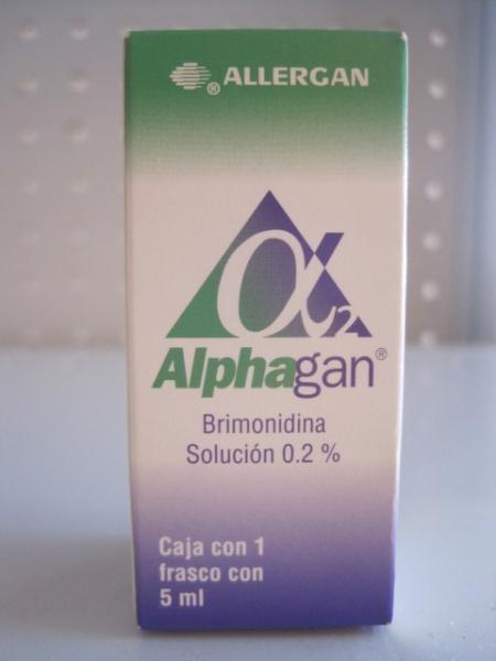 ALPHAGAN (BRIMONIDINA) 0.02% SOL. OFT